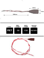PRTRP01 -  Rubber Patch Probe 1m 4 Wire Si PT100