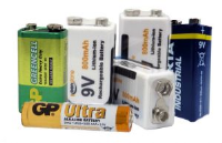 Batteries - Various Sizes - prices from