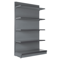 Wall Shelving Bay 2.4m High with Base Shelf