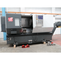 HAAS ST-30 CNC Lathe with Barfeed, Manufactured 2013
