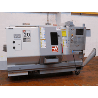 HAAS SL-20TCE CNC Lathe with Barfeed, Manufactured 2005