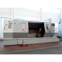 HAAS SL-40L Long Bed CNC Lathe. Manufactured 2007