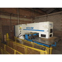 LVD Delta1250 RSTK 20 Ton, 20 Station CNC Punch with 3 Auto Index, MNC 32000 Control