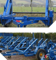 Cable Drum Trailers For Heavy Drums