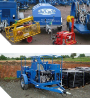 Cable Pulling Winches For Telecoms Applications