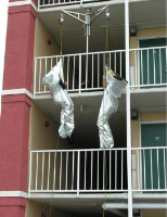Wall Mounted High Rise Fire Escape Systems
