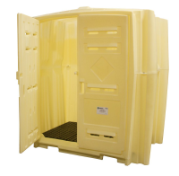 Job Hut - Spill Containment Storage Shed with Sump