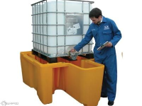 IBC Spill Containment Unit with Integral Dispenser