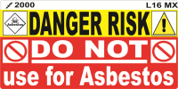 L016 MX -Do Not use for Asbestos (100)