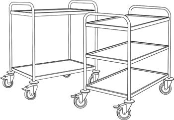 Labinox 316-Grade Stainless Steel Trolleys