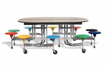 UK Suppliers Of Mobile Folding Cafeteria Tables