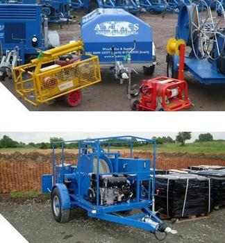 Cable Pulling Winches For Gas Applications