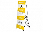 X Banner Display Stand
