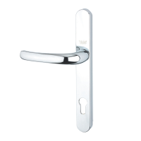 Yale YH1 Lever/Lever Handles 92mm PZ