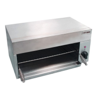 Salamander Grill Counter Top Electric  Light Duty