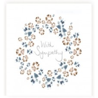 Wreath of paws Card