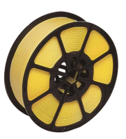 Yellow Plastic Pallet Strapping And Banding Tape 300 Kg 1000m x 12mm