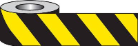 Yellow and Black Barrier or  Area Cordon Tape  x 500 m