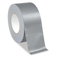 Gaffer Tape Silver Cloth  (4 Pack) 25mm x 50m
