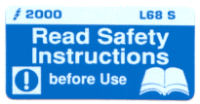 L068 S - Read Safety Instructions before use (Small)