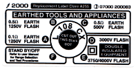 L108 CX - Replacement Clare A255 Settings