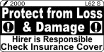 L062 S - Protect from Loss-Check Insurance (Small)