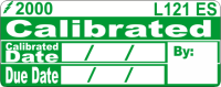 L121 ES - Calibrated Date,by, Due date