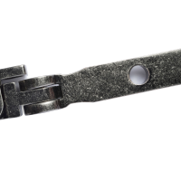 R9 Pear Drop Espag Handle - Right Hand, Pewter Patina