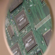 hybrid Printed Circuit Board assembly(pin in hole and surface mount) PCB