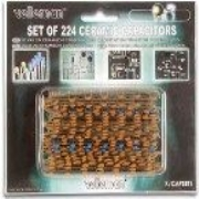 K/CAP1 224 Piece Ceramic Capacitor Set